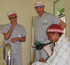 Blog Adil & David with patient