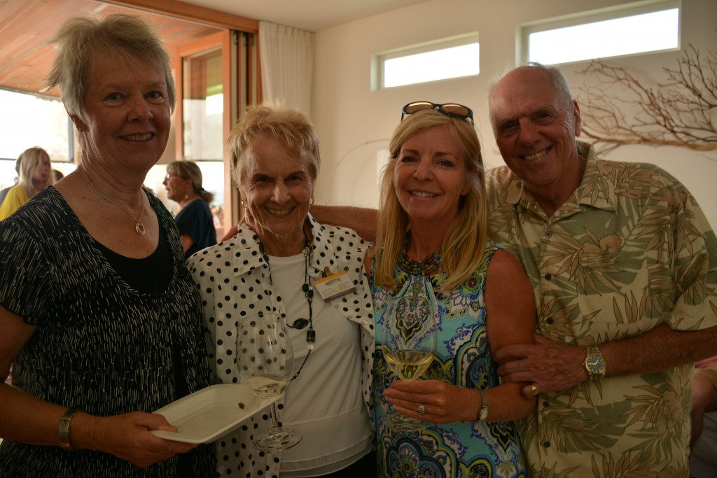 Supporters of RESTOR International include Lois Pritchard, Sharon Simpson a RESTOR director, Mary Jo Schnepf and Colin Pritchard.